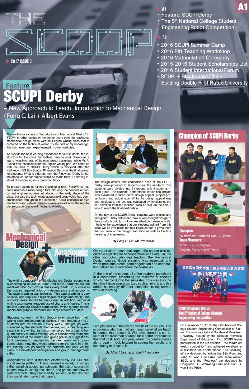 SCUPI SCOOP Issue 3-1